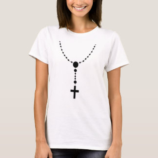 T-shirt perle irlandaise de chapelet de prière