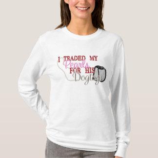 T-shirt Perles commercées pour Dogtags