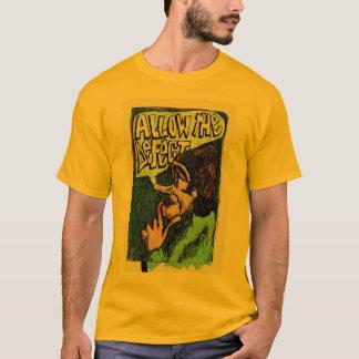T-shirt Permettez le défaut