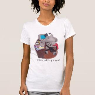 T-shirt Perroquet au bureau