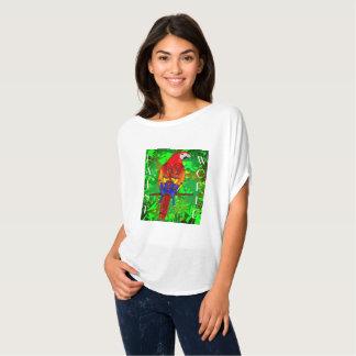 T-shirt Perroquet d'art