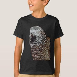 T-shirt Perroquet de gris africain