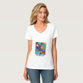 T-shirt Perroquet St Barth