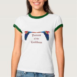 T-shirt Perroquets des Caraïbe
