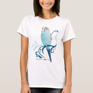 T-shirt Perruche bleue