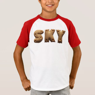 T-shirt Personalised T shirt with the « Sky désagréable ""