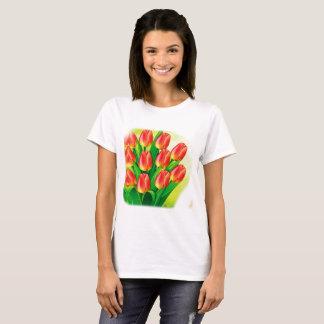T-shirt Personalyze de femmes avec la photo et le