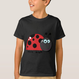 T-shirt Personnage de dessin animé de coccinelle