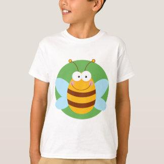 T-shirt Personnage de dessin animé de mascotte d'abeille
