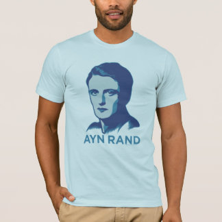T-shirt personnalisable d'Ayn Rand