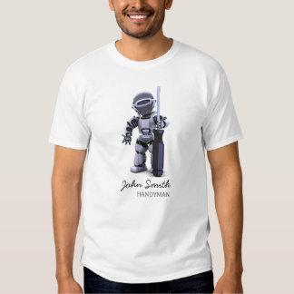 T-shirt personnalisable d'entreprise de