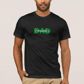 """T-shirt personnalisable"""" du PAPA nommé du """"enfant"""