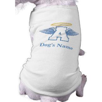 T-shirt personnalisé de chien d'ange