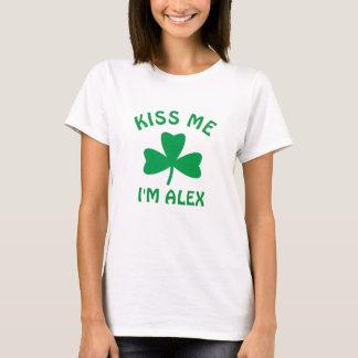 T-shirt Personnalisé embrassez-moi la chemise du jour de