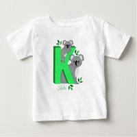 T-shirt personnalisé - K pour le koala