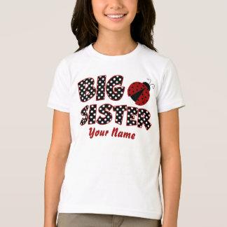 T-shirt personnalisé par coccinelle de grande