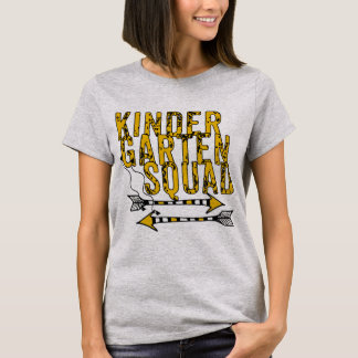 T-shirt personnalisé par peloton de Kindergarte de