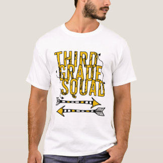 T-shirt personnalisé troisième par peloton de