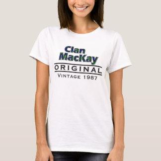 T-shirt Personnaliser vintage de MacKay de clan votre