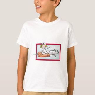 T-shirt Personnalisez avec le nom - l'infirmière superbe
