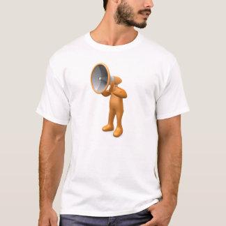 T-shirt Personne de mégaphone