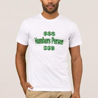 T-shirt Personne de nombres