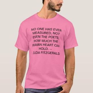 T-shirt personne n'a mesuré