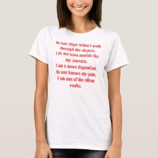 T-shirt Personne ne bat quand je marche par l'aéroport. I…