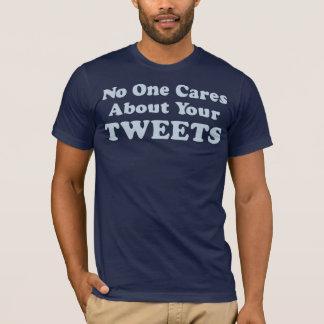 T-shirt Personne ne s'inquiète de vos bips