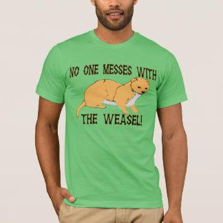 T-shirt Personne salit avec la belette