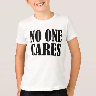 T-shirt Personne s'inquiète