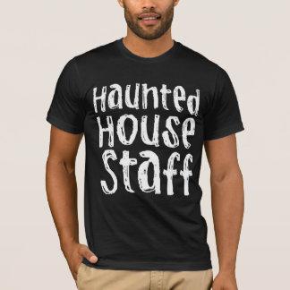 T-shirt Personnel hanté par costume de Chambre de