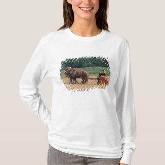 T-shirt Personnes simples de pays amish dans l'agriculture