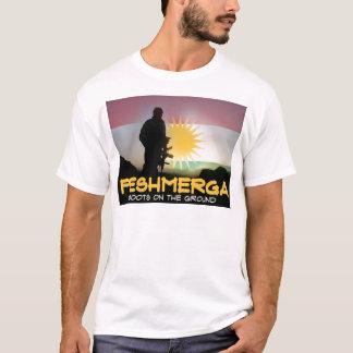 T-shirt Peshmerga - bottes au sol