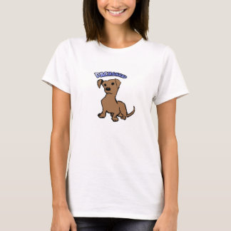 T-shirt PET dachshund