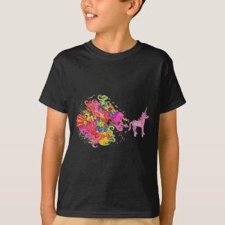 T-shirt Pet de licorne