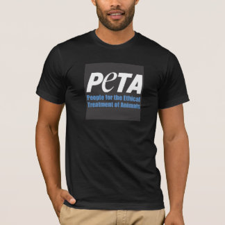 T-shirt PETA people for the ethical treatment ou animals