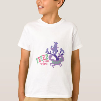 T-shirt Peter et le loup