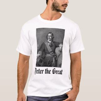T-shirt Peter les grands,