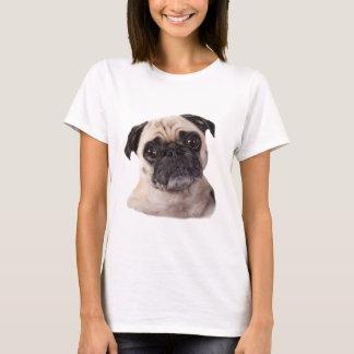 T-shirt Petit chien mignon de carlin