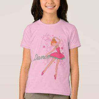 T-shirt petit danseur classique bariolé