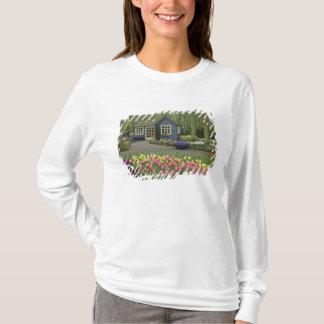 T-shirt Petit fleuriste de cottage, jardins de Keukenhof,