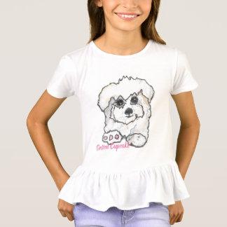 T-shirt Petit gâteau mignon de coton