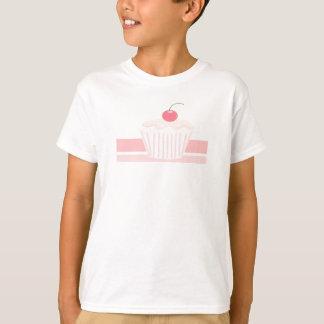 T-shirt Petit gâteau rose