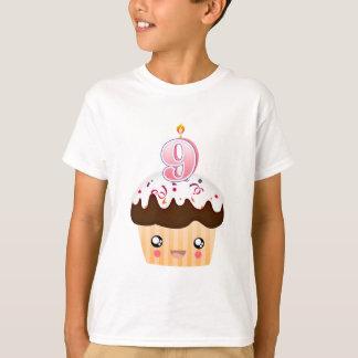 T-shirt Petit gâteau T - rose de 9 ans