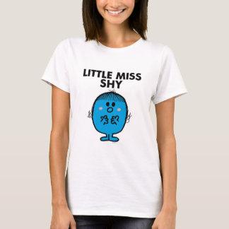 T-shirt Petit lettrage noir de Mlle Shy |
