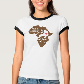 T-shirt Petit monde d'adoption africaine