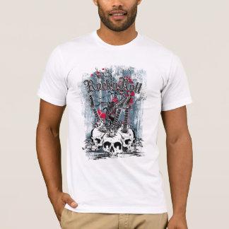 T-shirt Petit pain de la roche n, crânes de guitare, le