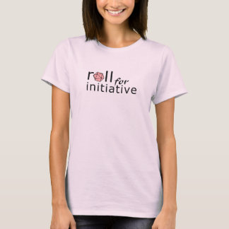 T-shirt Petit pain pour l'initiative (rose)