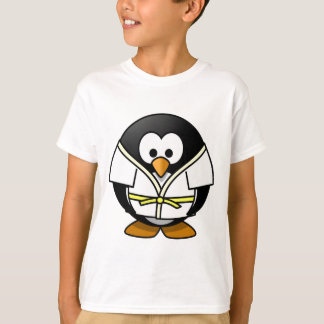 T-shirt Petit pingouin animated mignon de judo